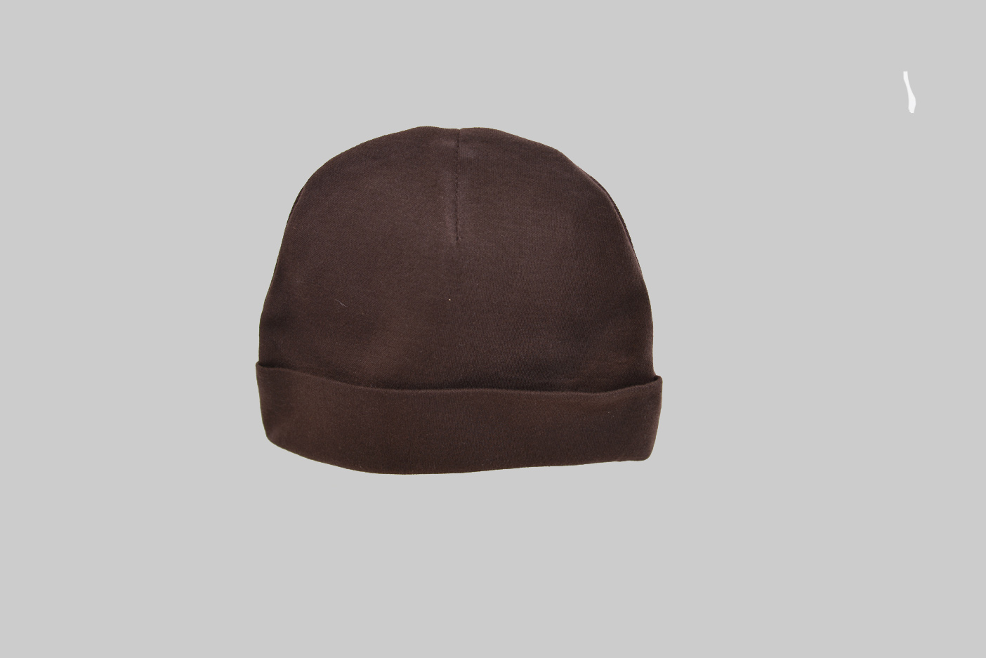 Brown baby cap