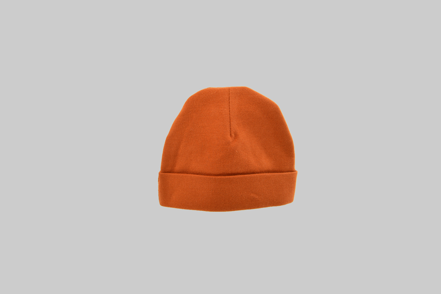 Burnt Orange baby cap