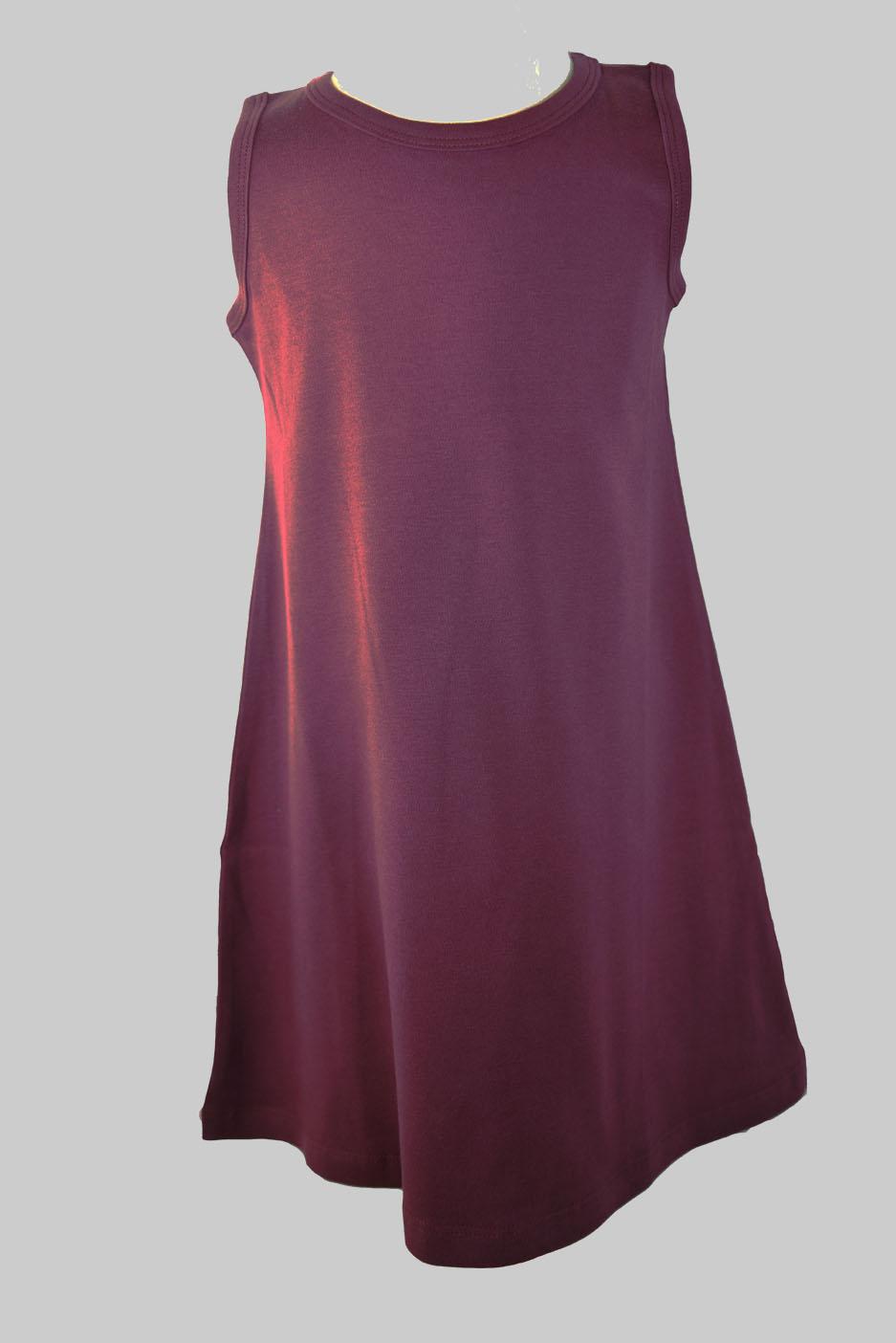 maroon color toddler girl dress