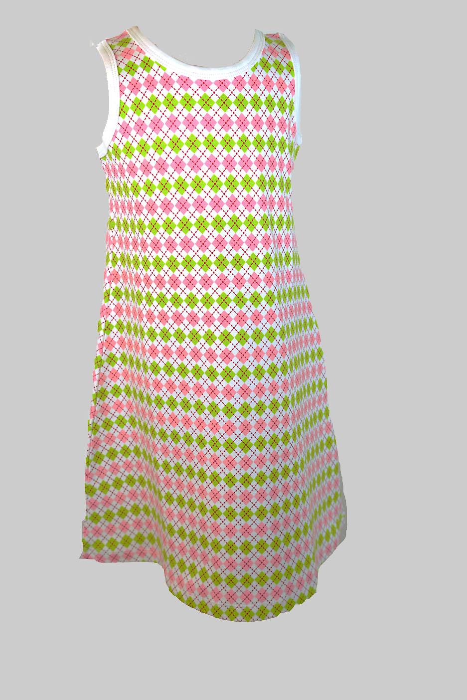 Argyle Toddler Girl Dress