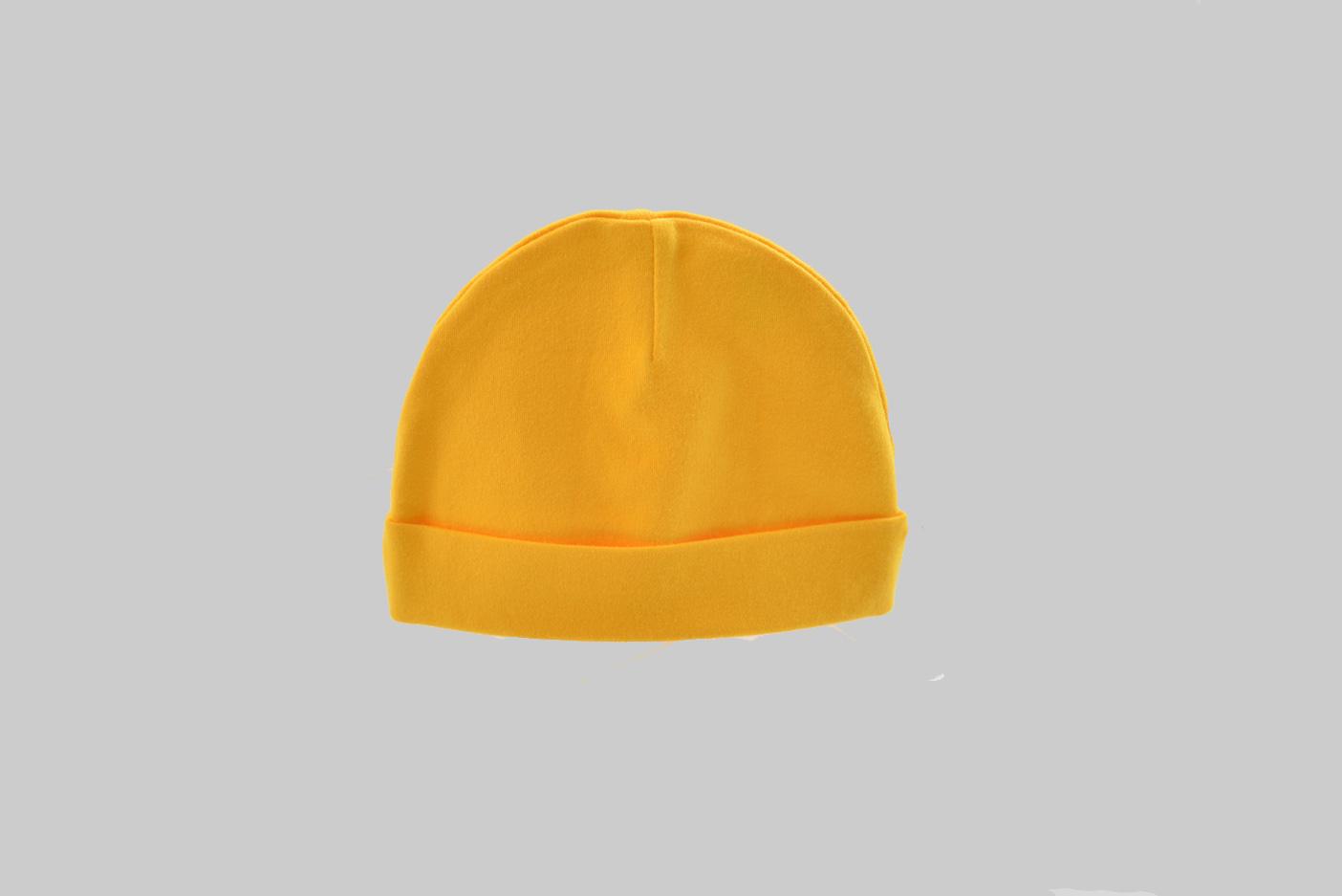 Golden Yellow baby cap