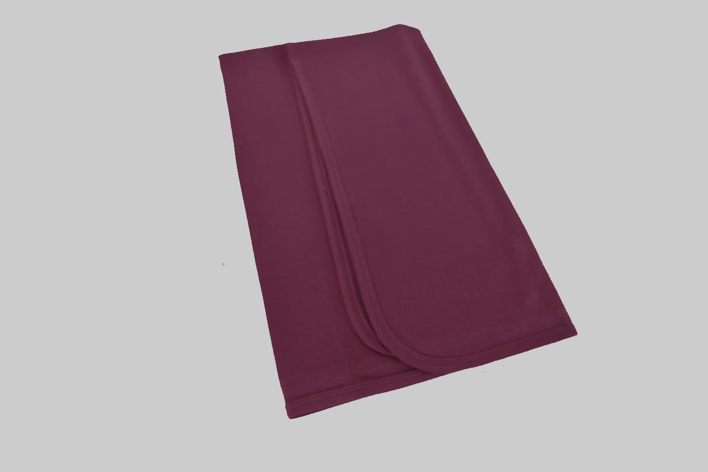 Maroon Receiving Blanket