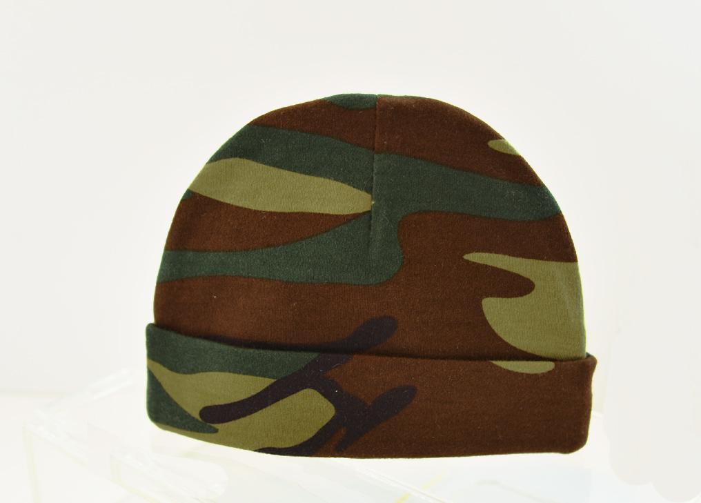 baby cap, camouflage