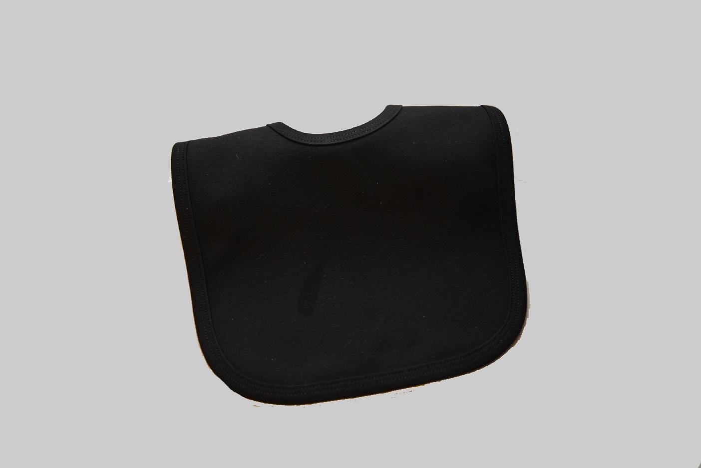 black color baby bib