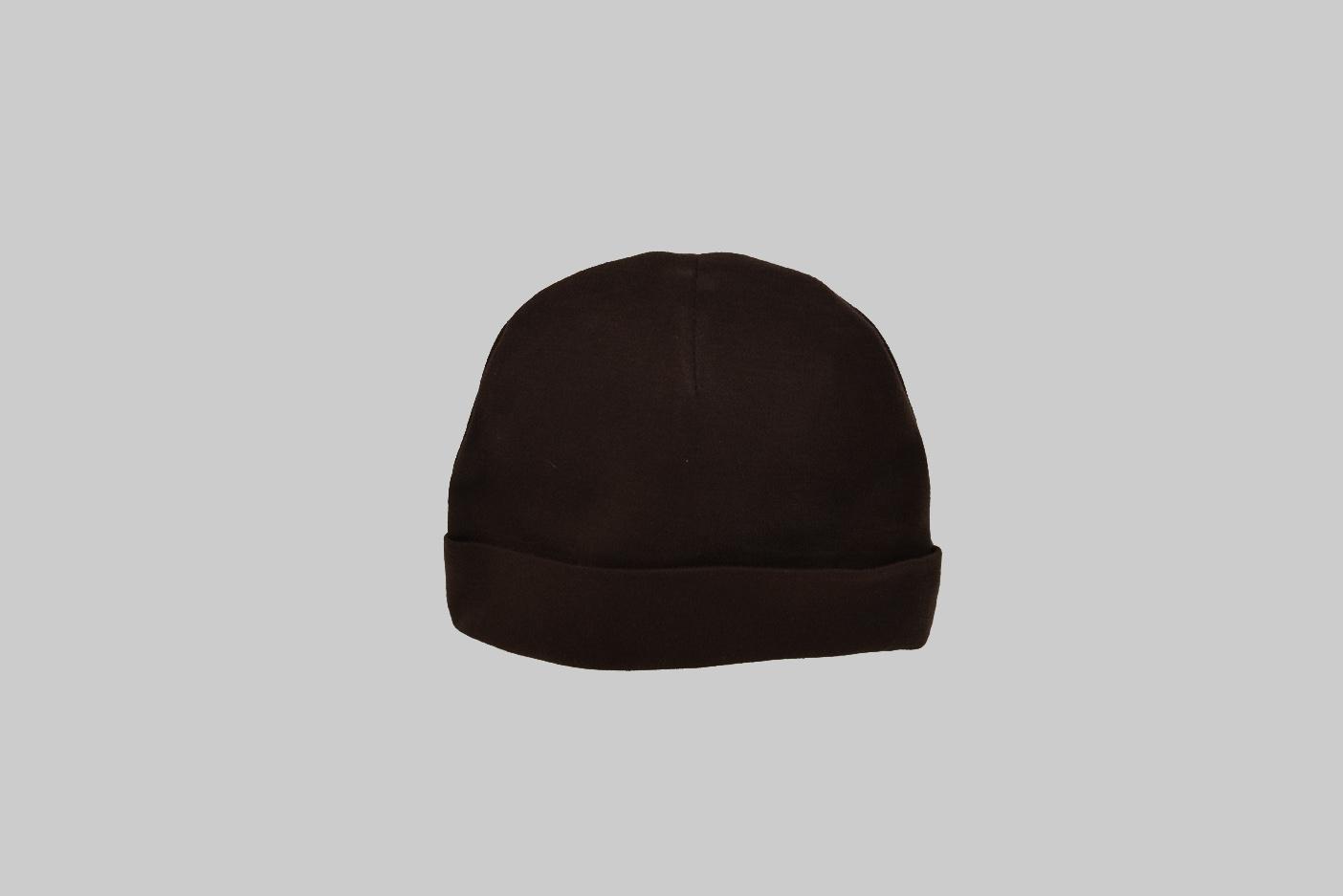 black color baby cap