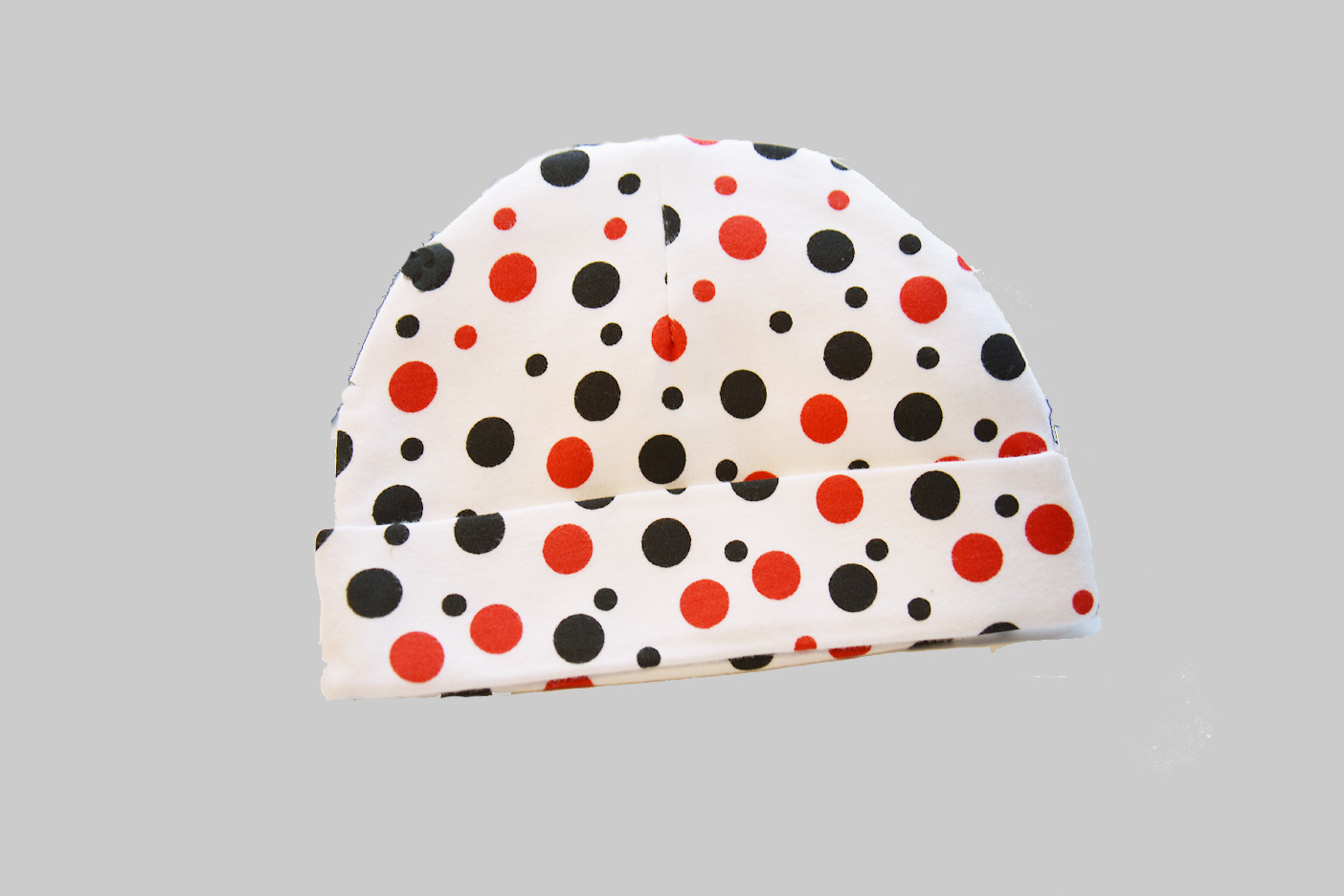 polka dots baby cap