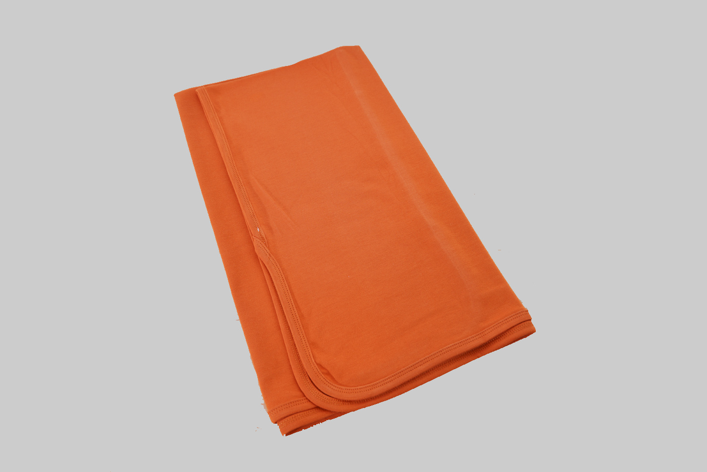 Burnt Orange Receiving Blanket