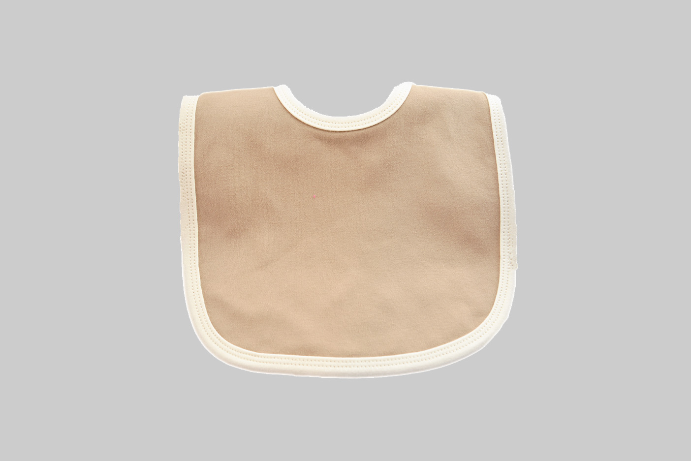 Cream with Camel color baby bibs