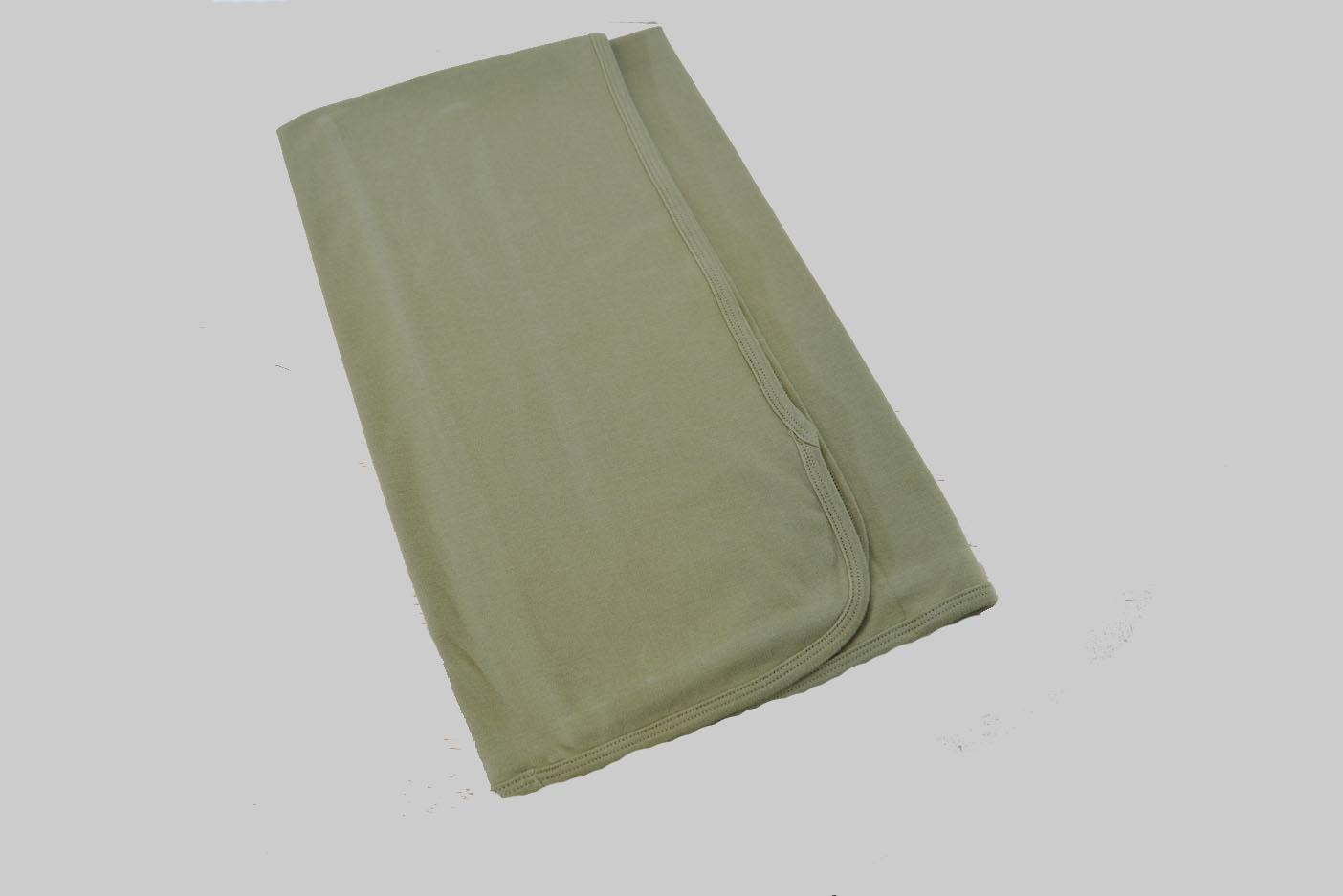 Camouflage Green Receiving Blanket