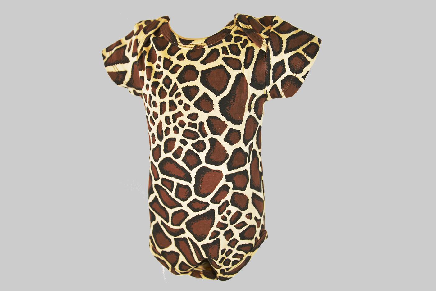 Giraffe Baby Jumpsuit