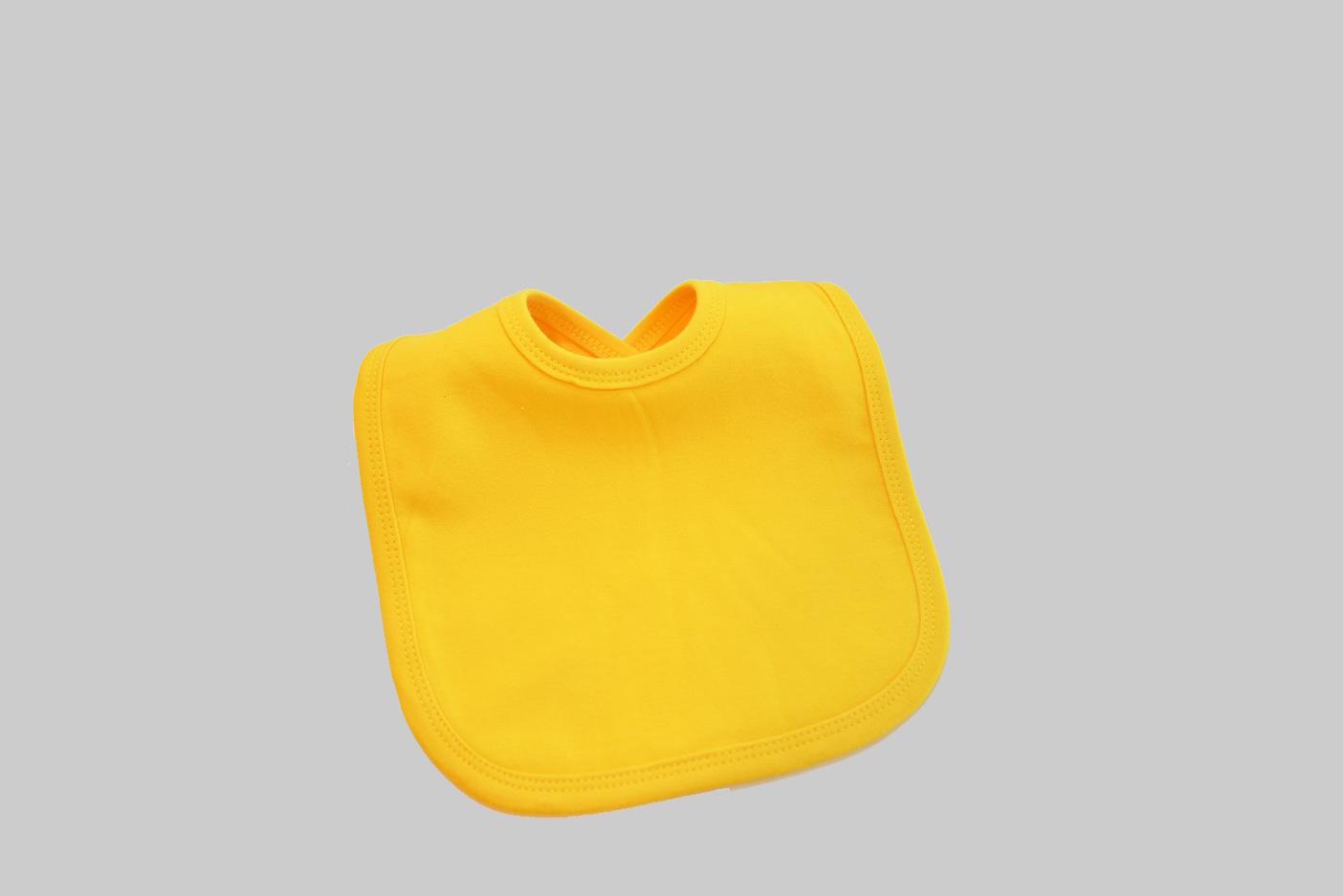 Golden Yellow baby bib
