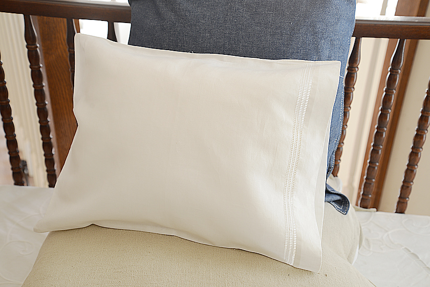 hemstitch baby pillowcases
