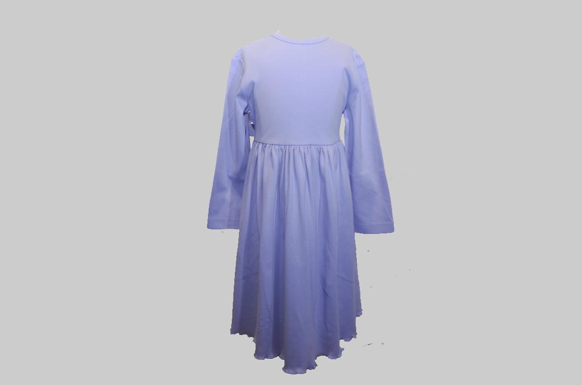 Lavender color toddler girl dress