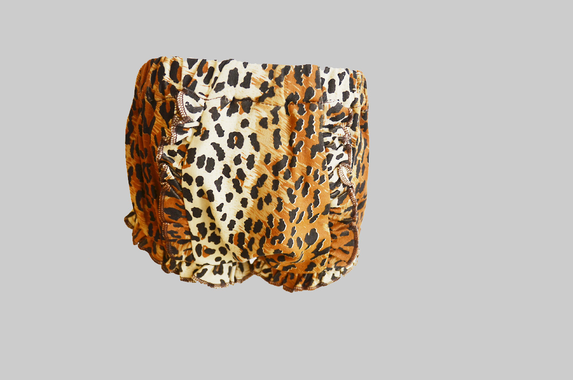 Leopard Print Baby Bloomer