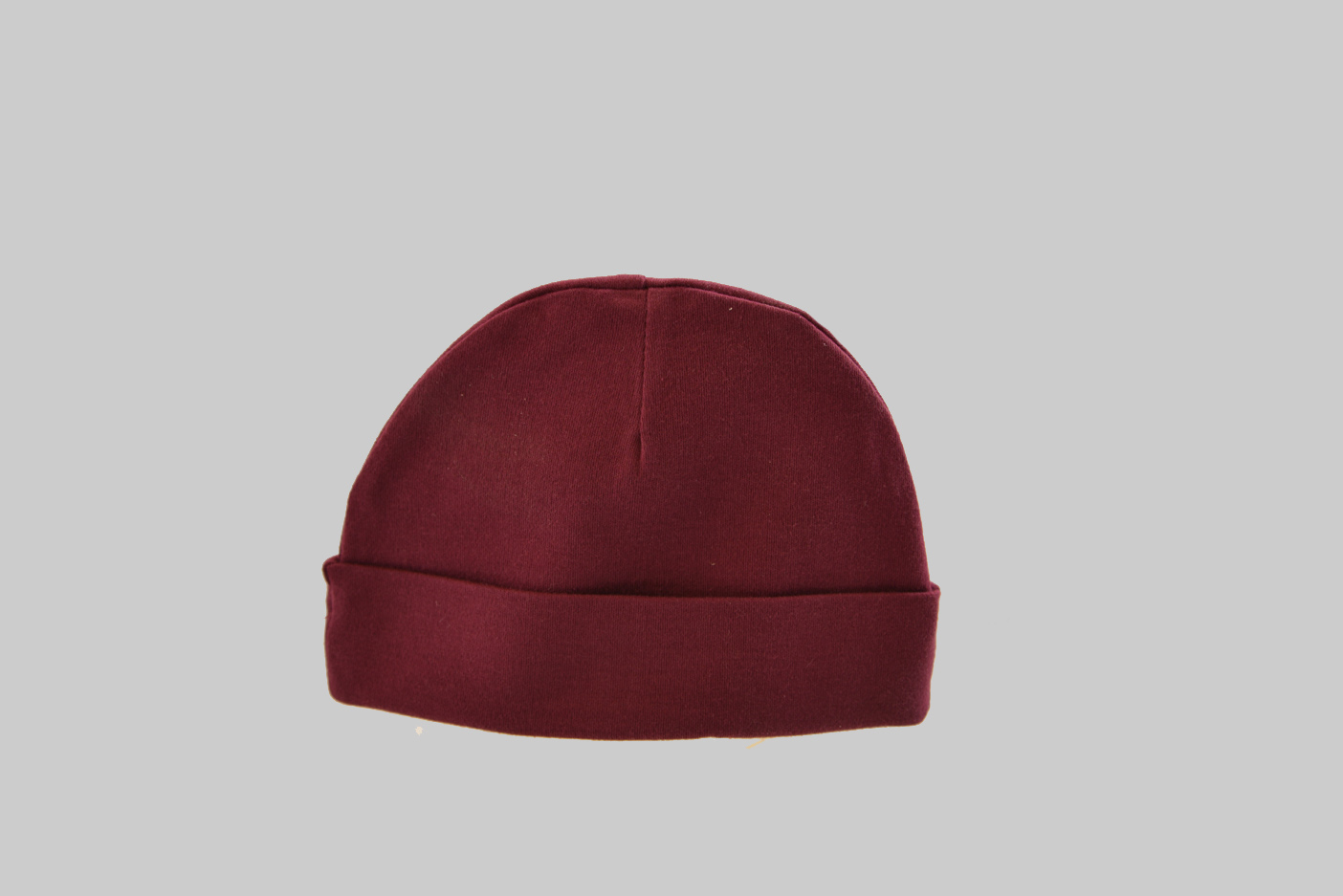 Maroon Baby Cap