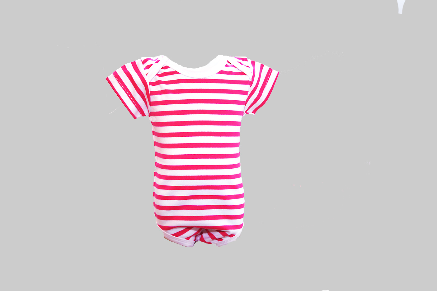 red color stripe baby jumpsuit