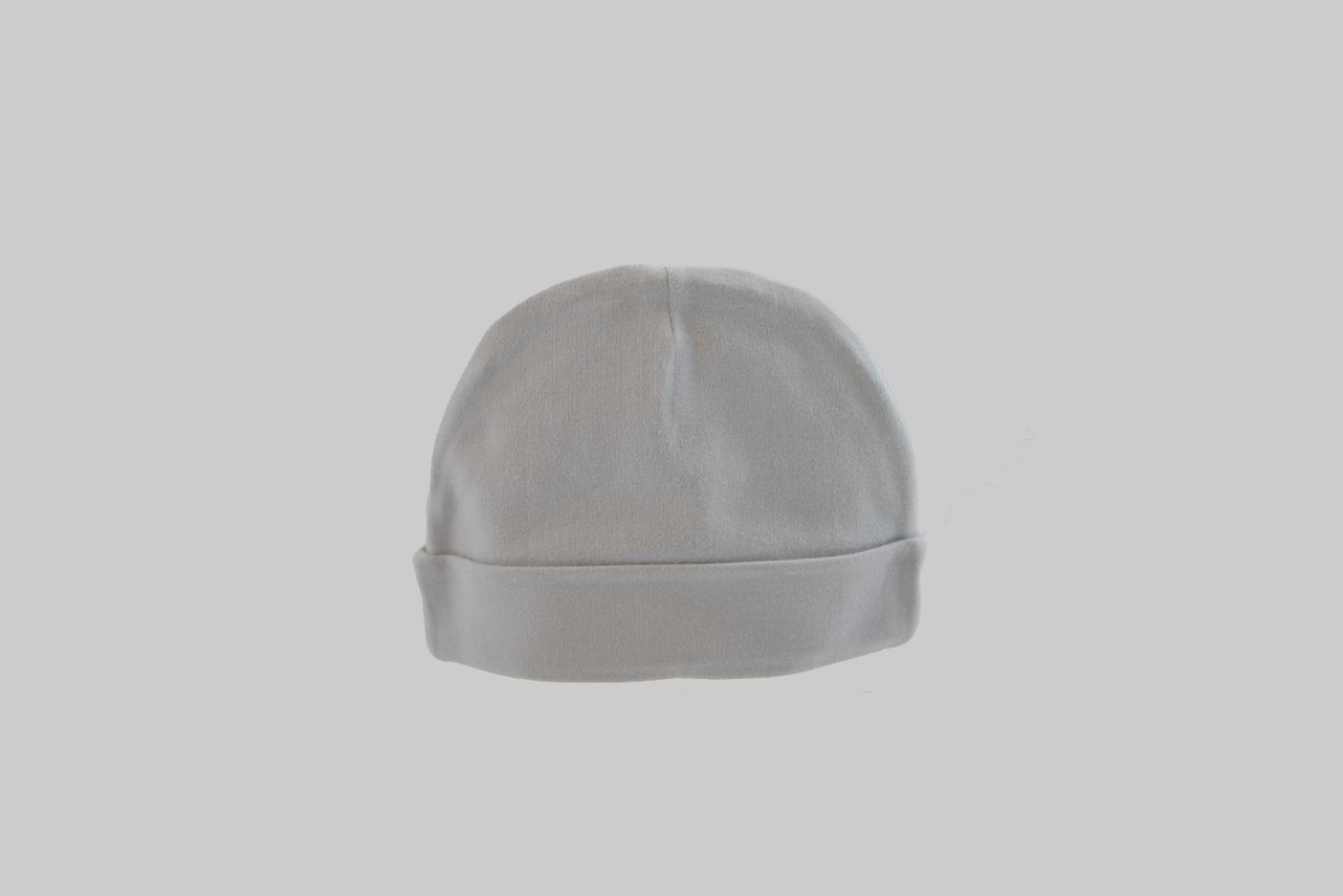 Silver Gray baby cap